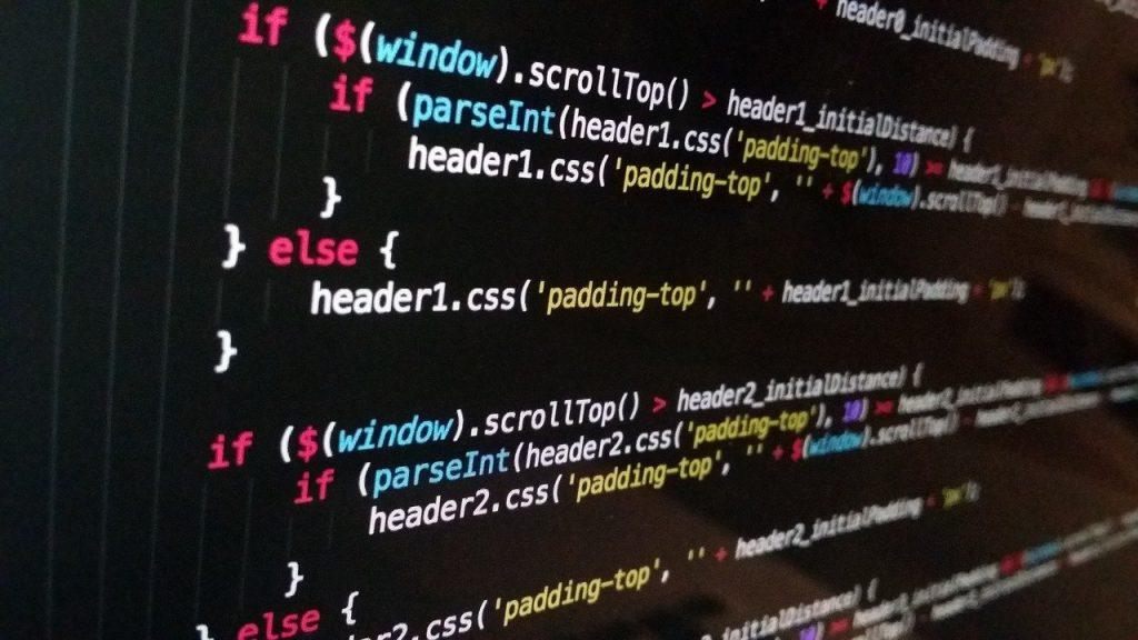 technologie, ordinateur, code